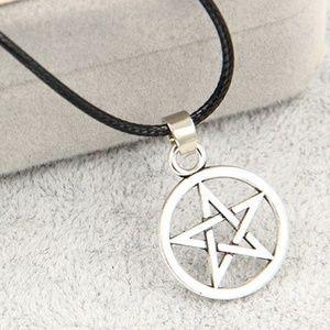 NEW Pentagram Star Pentacle Pendant Necklace